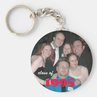 PB250038, class of, 1995 Basic Round Button Keychain