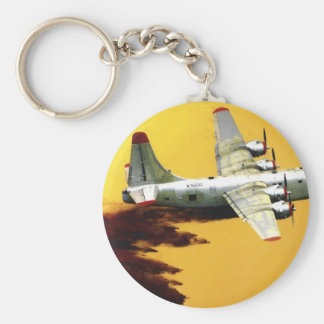 PB4 FIREFIGHTER AIRCRAFT KEYCHAIN
