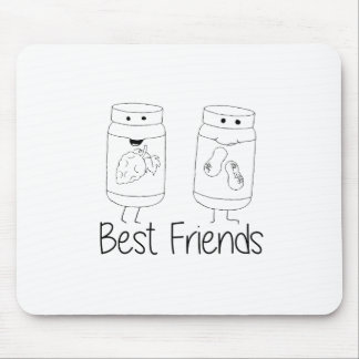 PB and J Best Friends Mouse Pad