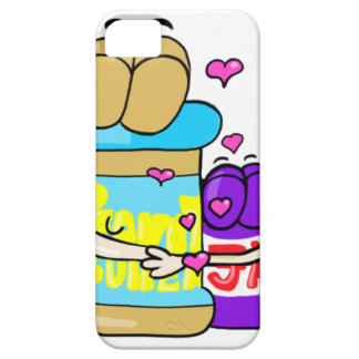 Pb&j Bestfreinds graphic iPhone 5 Cases