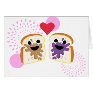 PB& J Love Card
