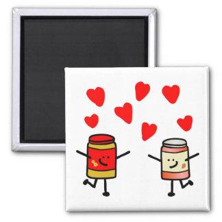 """PB&J Love"" Magnet"