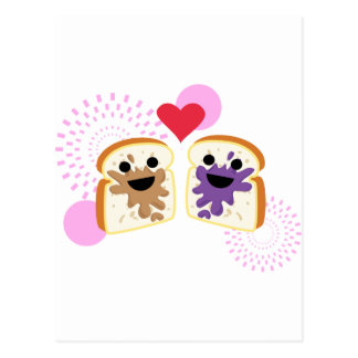 PB& J Love Postcard