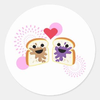 PB& J Love Sticker