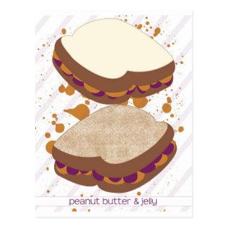 PB&J Sandwiches Postcard
