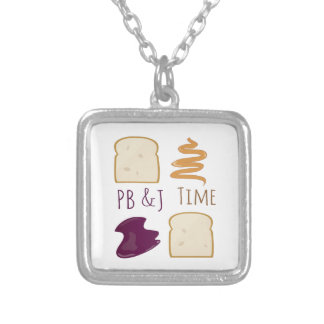 PB &J Time Necklaces