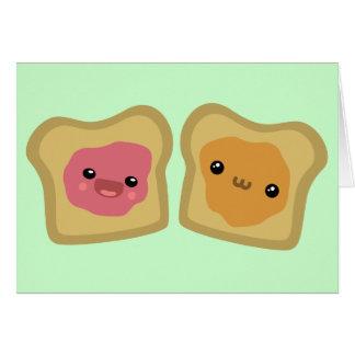 PB&J Toast Card