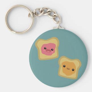 PB&J Toast Key Chains