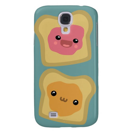 PB&J Toast Samsung Galaxy S4 Covers