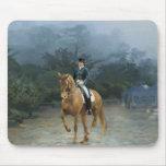 PB Piaffe Dressage Horse Art Mousepads