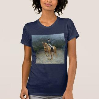 PB Piaffe Dressage Horse Art Tee Shirt