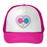 PB Ping Pong Paddle Heart Trucker Hat
