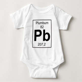 Pb - Plumbum Baby Bodysuit