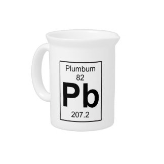 Pb - Plumbum Beverage Pitcher