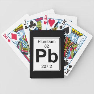 Pb - Plumbum Bicycle Playing Cards