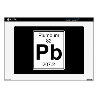 Pb - Plumbum Calcomanía Para Portátil
