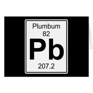 Pb - Plumbum Card