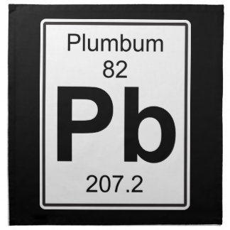 Pb - Plumbum Cloth Napkin