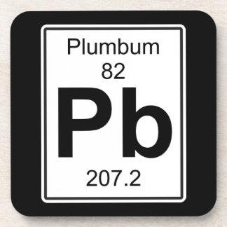 Pb - Plumbum Coaster