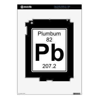 Pb - Plumbum Decal For iPad 2