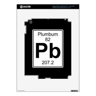 Pb - Plumbum iPad 3 Decals