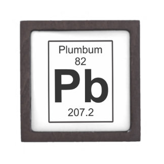 Pb - Plumbum Keepsake Box