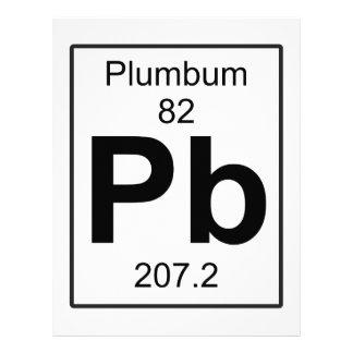 Pb - Plumbum Letterhead