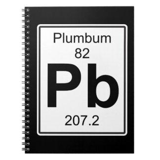Pb - Plumbum Spiral Notebook