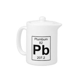 Pb - Plumbum Teapot