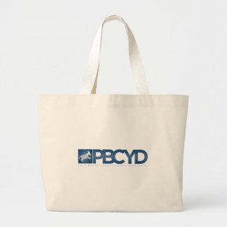 PBCYD Logo-  White Tote Bags