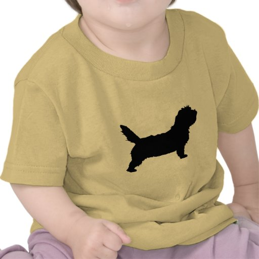 PBGV Dog (black) T-shirts