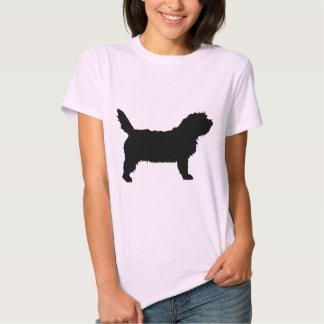 PBGV Dog (black) Tee Shirt