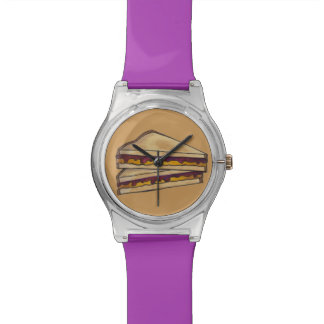 PBJ Peanut Butter and Grape Jelly Sandwich Watch