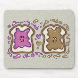 PBJ Sandwiches Mouse Pad