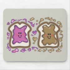 PBJ Sandwiches Mousepad