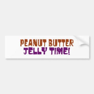 Pbj Time Bumper Sticker