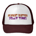 Pbj Time Trucker Hats