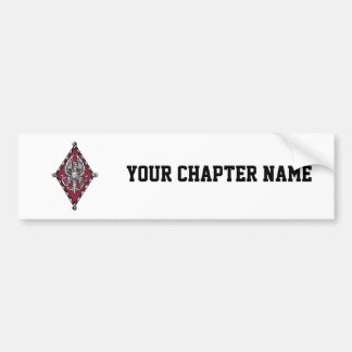 PBP Color Crest Bumper Sticker
