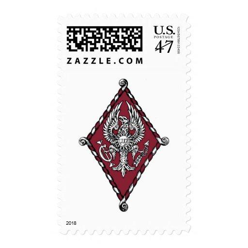 PBP Color Crest Postage Stamp