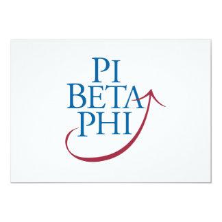 PBP Logo 5x7 Paper Invitation Card