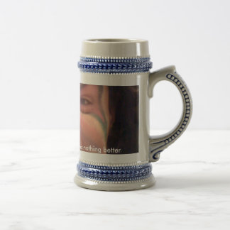 PBR and Murderface.....there's nothing better 18 Oz Beer Stein