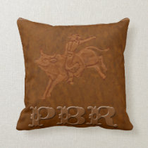 """PBR"" Western Rodeo Pillow"