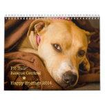 PBRC's Happy Endings Pit Bull Calendar 2014