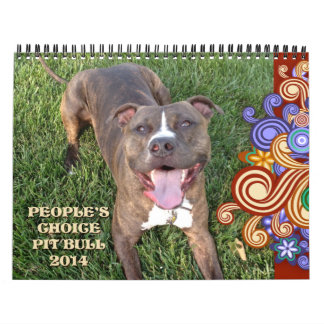 PBRC's People's Choice Pit Bull Calendar 2014