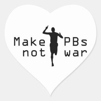 PBs Heart Sticker