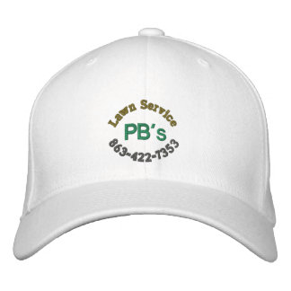 """PB's Lawn Service"" Baseball Hat"