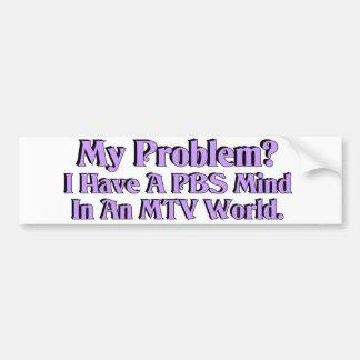PBS Mind Bumper Sticker