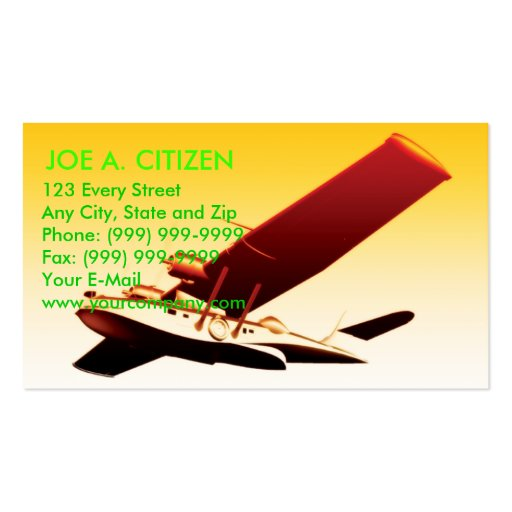 Pby catalina flying boat business card zazzle for Boat business cards