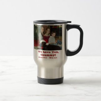 PC090017, We Love You, Grammy!Emily, Kara, Coli... Coffee Mug