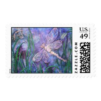 PC270023, libélula soña por Meaghan Louise Ai… Timbre Postal